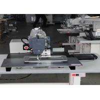 China Single Needle Flat Bed Automated Sewing Machine Pnuematic Persser Feet Type on sale