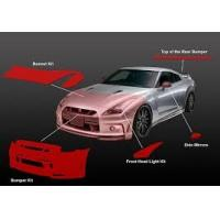 Urethane Car Body Paint Protection Film Solvent Resistant Easy Cleaning Manufactures