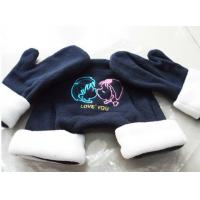 Promotion Couples Winter Fleece Gloves/ Winter Couple Gloves Manufactures