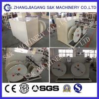 50m/min Plastic Hdpe Pipe Machine , 16mm Tubecoiler Machine SGS / CE / ISO Manufactures
