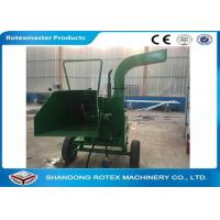 Buy cheap 40 HP Mobile Tractor Driven Wood Chipper for Small Forest Branch from wholesalers