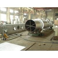 Rotary Barrel Vacuum Drying Machine Natural Gas Heating High Efficiency Manufactures