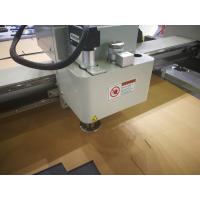 Oscillating Knife Leather Composite Cutting Machine , Flatbed Digital Cutter Manufactures