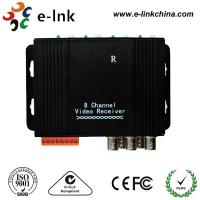 Active CCTV UTP Video Extender Transceiver , Twisted Pair Video Converter Manufactures