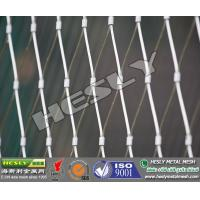 Stainless Steel Wire Rope Mesh Fence, Wire Cable Mesh Manufactures