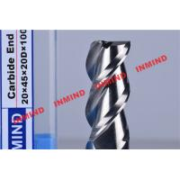 Buy cheap HRC55 HRC60 HRC65 Tialn Coated End Mills For Aluminum / Steel from wholesalers