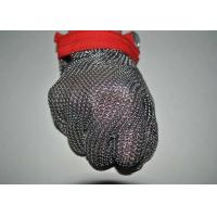 Security Protective Steel Mesh Gloves For Cutting Meat , Anti - Corrosion Manufactures