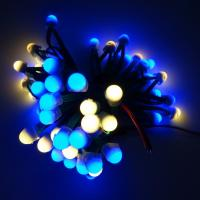 12mm Open Hole LED Pixel Lamp / SK6812 IP68 LED Pixel String With All Green Wire Manufactures