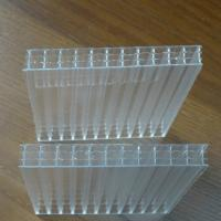 Buy cheap 6mm Four Layers High Durability Polycarbonate Hollow Sheet PC Hollow Sheet for from wholesalers