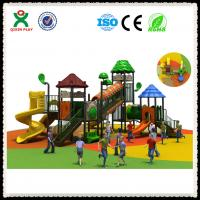 Plastic outdoor playground slides for sale factory, kids slides for playground outdoor Manufactures