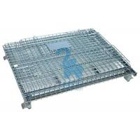 Heavy Duty Collapsible Wire Mesh Storage Cages For Metal Tools