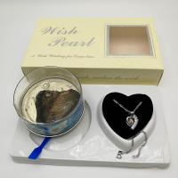 Wish Love Pearl Necklace Gift Set with Cage Pendant & Canned Freshwater Pearl DIY Fashion Jewelry Manufactures