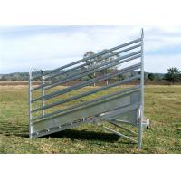 3.6 Metre Adjustable Cattle Loading Ramp With Dual Pin Locking System Manufactures