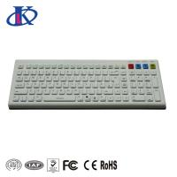 2.4GHz Waterproof Keyboard Wireless / Bluetooth Silicone Material With Optional Colors Manufactures