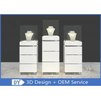 Contemporary MDF Jewelry Display Stand / Jewelry Display Cabinet Manufactures