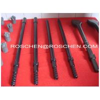 H19 Hexagonal Chisel Bit Integral Top Hammer Drilling , Rock Drill Rods 19mm 108mm Manufactures