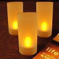 LED Tea Lights/Candles, Made of PP Plastic Material Manufactures
