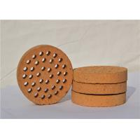 Round Shape Kiln Refractory Bricks For High Working Temperature Areas Manufactures