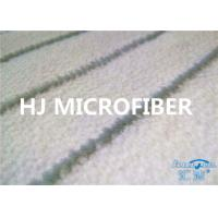 China Microfibre Thick Fleece Fabric For Rolling Brush White 58 / 60 700GSM on sale