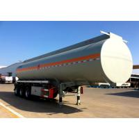 China Carbon Steel Fuel Tank Trailer 55000 Liters Petroleum Tanker Trailer on sale