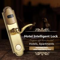 Intelligent Stainless Steel IC Card Induction Lock For Hotel / Apartment Manufactures