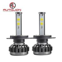 36w 3800lm LED Car Headlight Bulb / Auto Driving Lights 360 Degree 7 Colors Manufactures