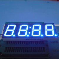 0.8 Inch 4 Digit Seven Segment Display Ultra Bright Blue Stable Performance Manufactures