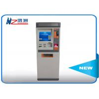 China Touch ATM kiosk floor standing payment terminal with cash deposit acceptor on sale