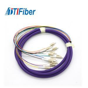 Multimode Fiber Optic Pigtail Simplex LC SC FC ST Excellent Mechanical Endurance Manufactures