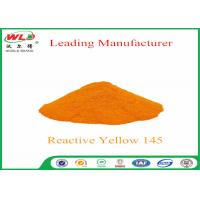 180 Solubility Reactive Yellow Fabric Dye WDE C I Yellow 145 One Phase Printing Process Manufactures