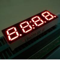 0.8 Inch 4 Digit Seven Segment Display High Luminous Intensity Stable Performance Manufactures