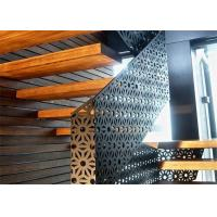 China 1220mm / 1250mm Width Aluminum Decorative Perforated Metal Panels Customized on sale