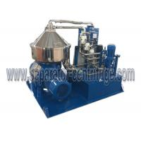 High Speed Disc Separator - Centrifuge Automatic For Algae Dewatering Manufactures