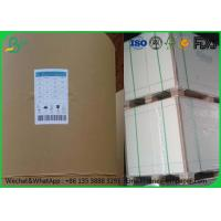 Size Customized Woodfree Offset Paper , 53 Gram 55 Gram Bond Printing Paper Manufactures