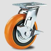 Heavy duty caster , korea style  PVC caster wheel,transfer facility caster Manufactures