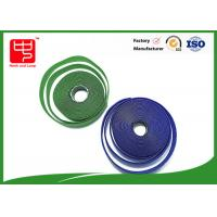 Custom sew on male and female Hook and Loop Tape 25 m per roll Manufactures