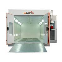 7.5KW Exhaust Turbo Fan Downdraft car Spray Booth For Automobile Painting, Maintenance WD-60A Manufactures