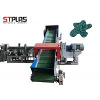 China Siemens Brand Waste Plastic Two Stage Water-Ring Granular Extrusion Machine Line on sale