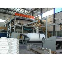 S single beam Spunbond Nonwoven Fabric Making Machine / non woven fabric production line Manufactures