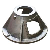 Custom GGG40 Material Ductile Cast Iron Parts Green Sand Casting Process Manufactures