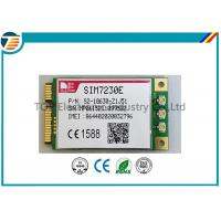 PCIE Wireless 4G LTE Module From SIMCOM SIM7230E With MDM9225 Chipset 3.3V Small Size Manufactures