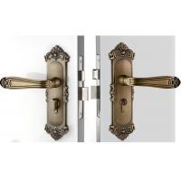 High Hardness Room Mortise Door Lock Antique Bronze Zinc Alloy Entracne Handle Lock Manufactures