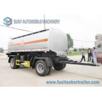 Chemical Liquid International Tank Trailer Double Full Axle 15000L Manufactures