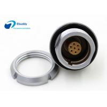 Buy cheap Assembled inside receptacle Lemo EEG 7pin rear panle install socket EEG.0K.307.CLL from wholesalers