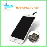 China White / Black iPhone LCD Screen Replacement , Capacitive iPhone 6 LCD Screen Assembly on sale