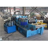 SGS CZ Purlin Roll Forming Machine Dual Holes Punching 11 MPa Work Pressure Manufactures