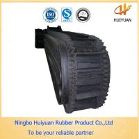 High Tensile Strength Sidewall Rubber Conveyor Belt (EP150 with cleat) Manufactures