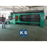 Double Rack Drive Gabion Machine / Hexagonal Wire Mesh Machine Manufactures