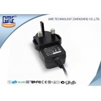 UK 12V 1A Universal Wall Mount Power Adapter / Speaker Universal AC DC Adapters Manufactures