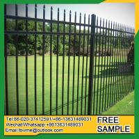 St.Petersburg black fence Goodland black wrought iron fencing Manufactures